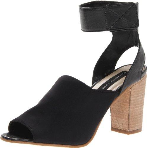 STEVEN by Steve Madden Women's Mable Dress Sandal,Black Fabric,9 M US