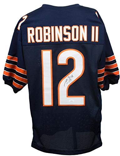 Allen Robinson Autographed Jersey - Custom Blue - JSA Certified - Autographed NFL Jerseys
