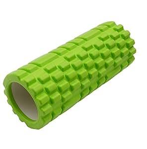 Suyi ProSource de Medicina Deportiva de espuma de rodillos 33 cm x 14 cm con rejilla para masaje de tejidos profundos y la terapia del músculo de los puntos gatillo, los colores múltiples