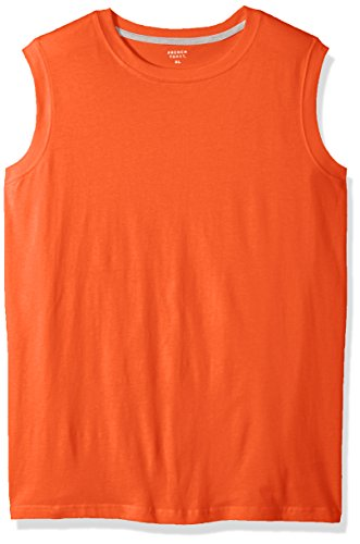 French Toast Men's Muscle Tee, high Heat Heather, L -