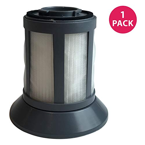 Crucial Vacuum Air Filter Replacement - Compatible With Bissell Part # 2031532 - Bissell Dirt Bin Filter Fits Zing Bagless Canister Vacuum Models - Washable, Reusable, Compact Vac Filters (1 Pack)