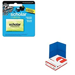 KITSAN1816553UNV56601 - Value Kit - Prismacolor Scholar Kneaded Eraser (SAN1816553) and Universal Two-Pocket Portfolio (UNV56601)