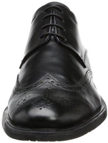 Josef Seibel Schuhfabrik GmbH Mats 01/Westland - Brogue de cuero hombre, color negro, talla 41