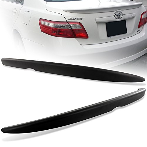 2007-2011 Toyota Camry Matt Black ABS Rear Trunk Duck Lid Spoiler Wing (Toyota Lid Camry Trunk)