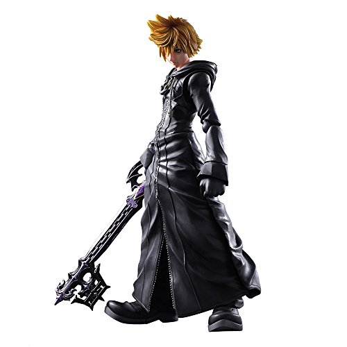 Kingdom Hearts II - Roxas -Organization XIII Ver.- Play Arts Kai Action Figure