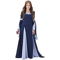 1791's lady Medieval/Renaissance Dresses NQ0030-3-XXXL