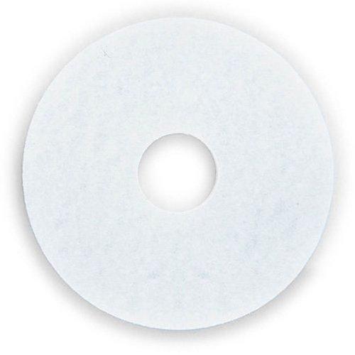 3M ホワイトスーパーポリッシュパッド 11インチ(280mm) 5枚セット   B011OCOS96
