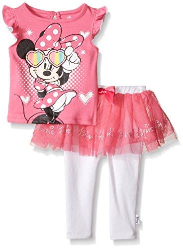 Disney Baby Minnie Mouse 2 Pc Skegging Set, Multi/Sunglasses Pink, 18 - Mayfair Glasses