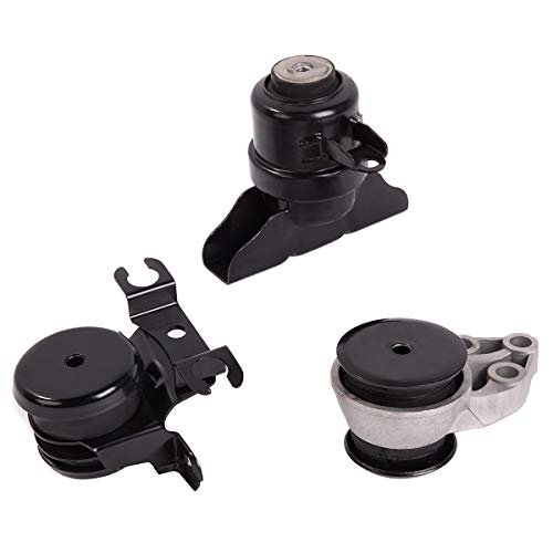 Ashimori Fit Ford Escape 2.0L & 3.0L 2001-2004 Transmission Engine Motor Mount Set ()