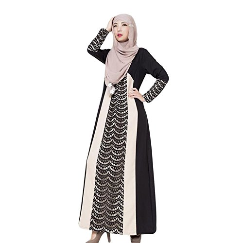 Meijunter Women Muslim Arab Robe Middle East Kaftan for sale  Delivered anywhere in Canada
