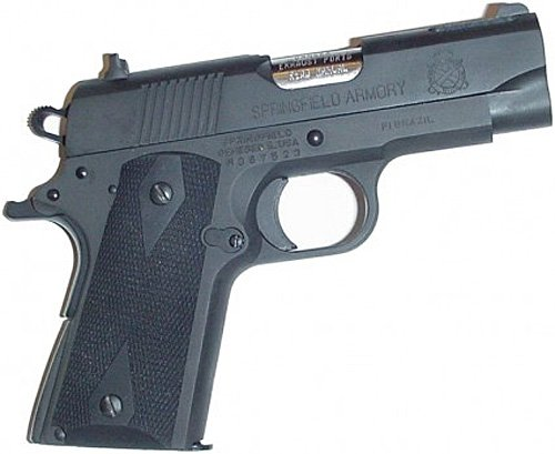 Pearce Grips PG-OM2 Rubber Grip Compact 1911