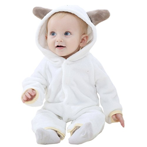 Borje Baby Girls Boys' Bear Style Jumpsuit Spring, Autumn & Winter Romper Clothing