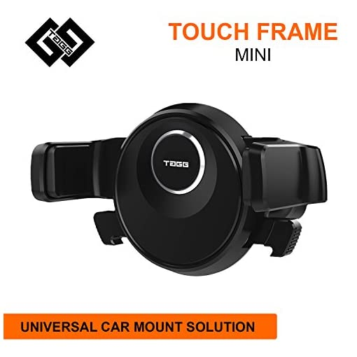 Tagg Touch Frame Mini Air Vent Car Mobile Holder (Black)