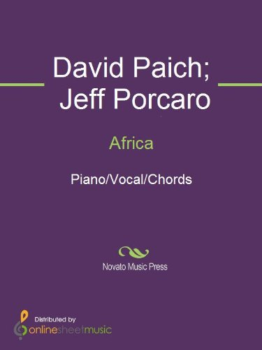 Africa Kindle Edition By David Paich Jeff Porcaro Toto Arts