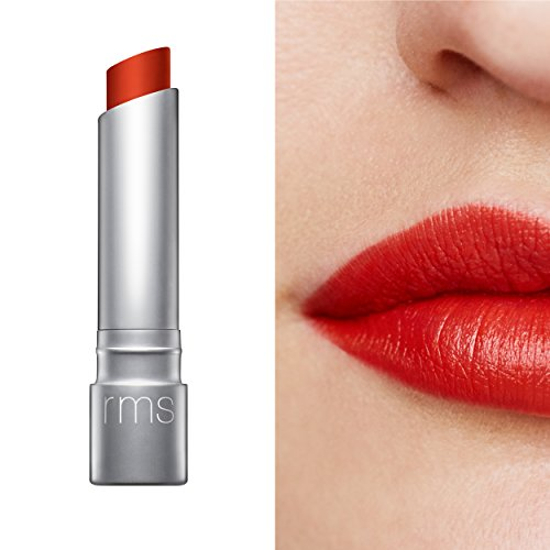 RMS Beauty Wild With Desire Lipstick, RMS Red, 4.5g/0.15oz