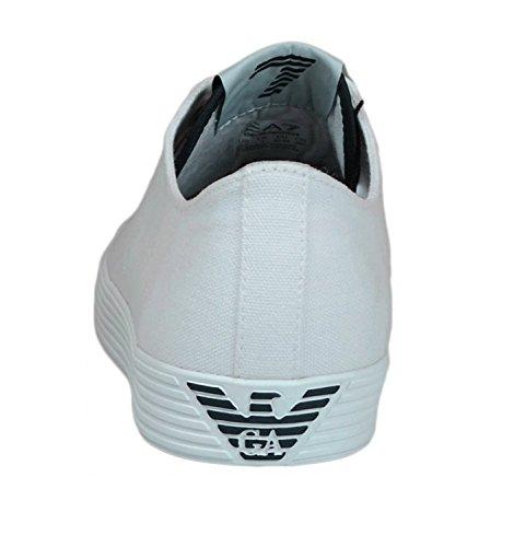 Emporio Armani Scarpe EA7 Sneaker 278045 6P299 00010 White - 7 USA - 40 EUR
