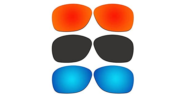 f168c919e176 Amazon.com   ACOMPATIBLE 3 Pair Replacement Polarized Lenses for Oakley  She s Unstoppable Sunglasses OO9297 Pack P1   Sports   Outdoors