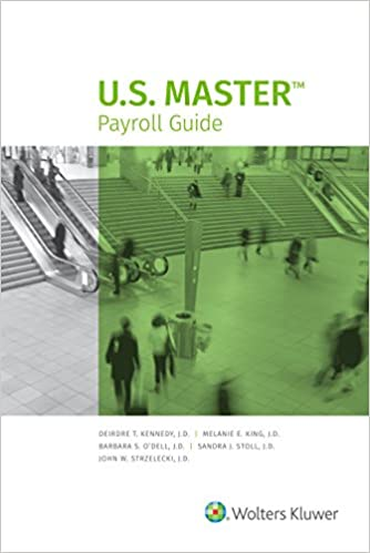 U. S. Master payroll guide, 2009 edition by cch incorporated.