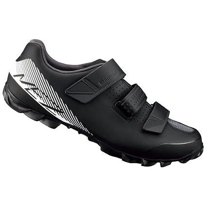 SHIMANO SHME2PG450SL00 - Zapatillas Ciclismo, 45, Negro - Blanco, Hombre