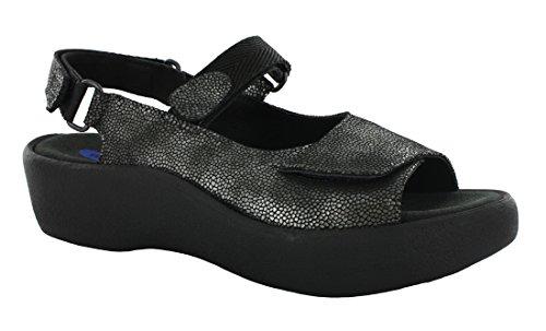Wolky Komfort Sandaler Juvel Kaviar Svart
