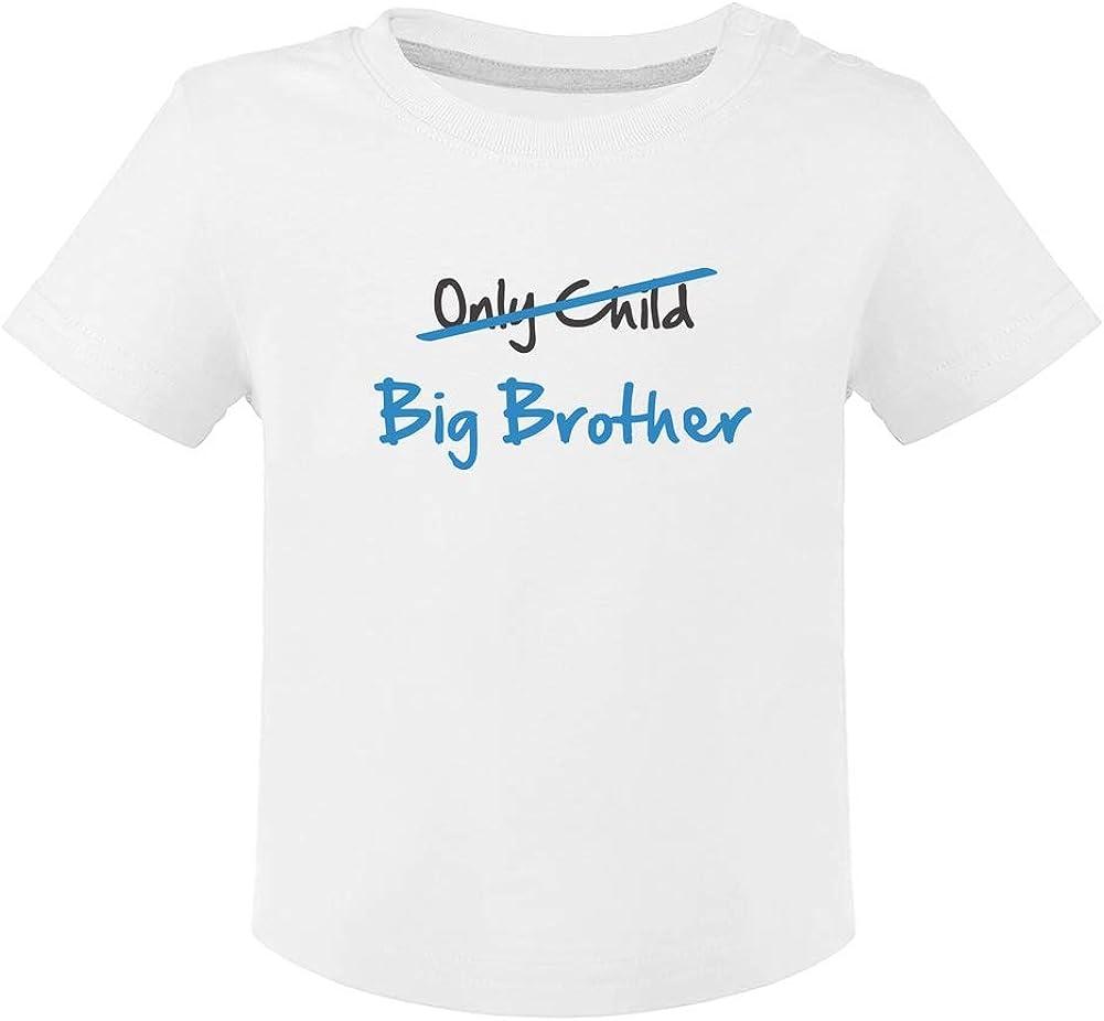 Camiseta para niños - Only Child to Big Brother - Regalo para Futuro Hermano Mayor