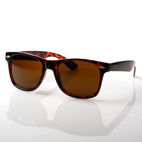80s Collection Classic Retro Sunglasses [Tortoise] (Classics Collection Sunglasses)