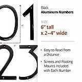 NACH HH-SDW6-ALM Shadow House Address Numbers