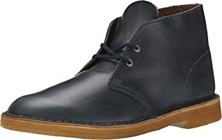 CLARKS Men's Horween Leather Desert Boots, Midnight Blue, 8.5 D(M) US (B00TY9B3OK) | Amazon price tracker / tracking, Amazon price history charts, Amazon price watches, Amazon price drop alerts