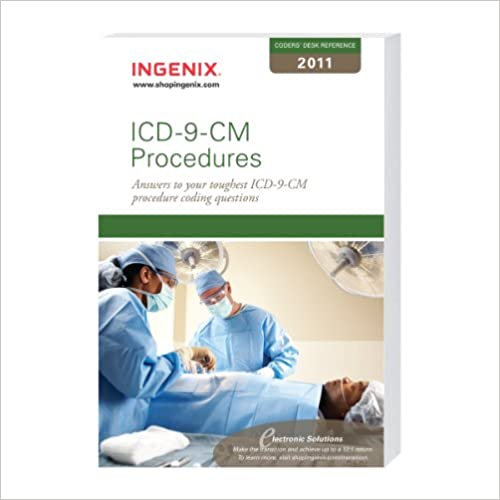 Coder S Desk Reference for ICD-9-CM Procedures 2011 (Coder 39:s Desk Ref: Procedures)