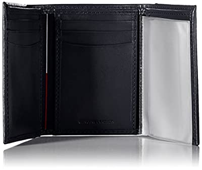 Tommy Hilfiger Men's Leather Cambridge Trifold Wallet