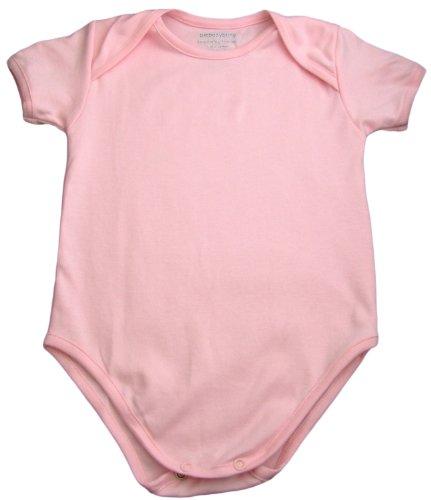 - Pima Blank Bodysuit - Rose Pink 6-12 months
