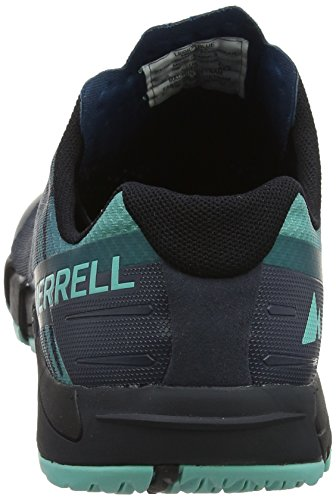 Merrell Herren Bare Access Flex Trail Runner Legion Blau
