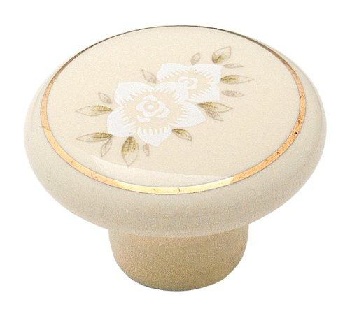 Almond Ceramic Handle Pulls - 4