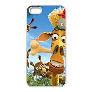 iPhone 4 4s Cell Phone Case White Madagascar Phone Case Cover Design Protective XPDSUNTR10226