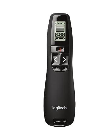 45cc3f18ffd Logitech R700 - Presentador inalámbrico, color negro: Amazon.es: Electrónica