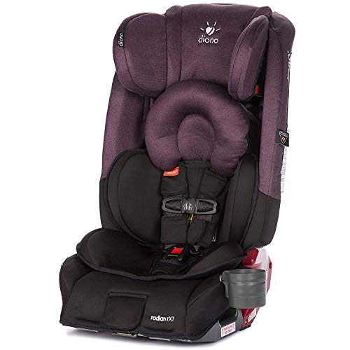 Diono Radian RXT All-in-One Convertible Car Seat, For Children from Birth to 120 Pounds, Black - Lbs 30 Car Booster Up Seats And