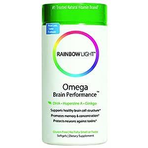 Rainbow Light - Omega Brain Performance, 60 softgels