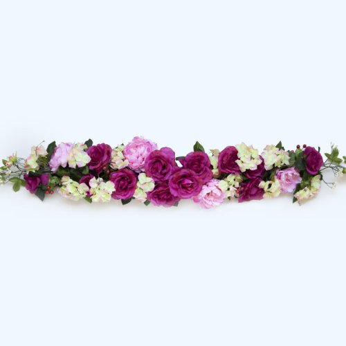 50-long-Silk-Flowers-Swag-with-Roses-and-Hydrangea