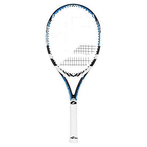 Babolat Drive Lite Blue and White Strung Tennis Racquet, used for sale  Delivered anywhere in USA