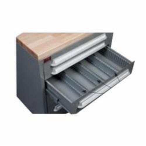(LYON NF24067P 6YDU6 Modular Drawer Cabinet Partition,25-7/16 in L x 2-13/16 in H, For Drawers w/Height (In.) 3-7/8, 4-5/8)