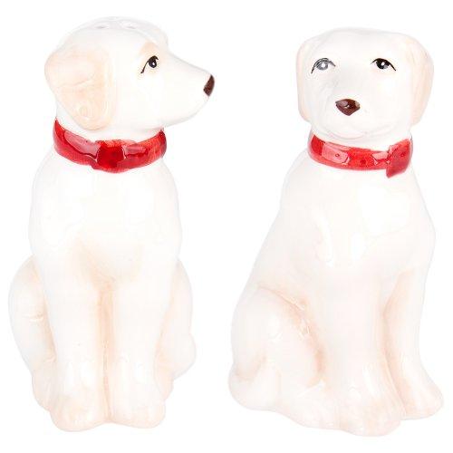 Charles Sadek Import Co - Yellow Labradors Sitting Salt & Pepper Shakers