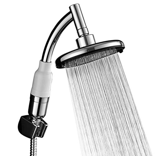 Hand Shower Head High Pressure with Powerful Shower Spray Large Handheld Shower Head Showerhead Accessories Water Saving Fit Low Pressure Water Supply Pipeline