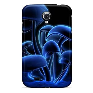 New Premium Ytc12612Xgow Cases Covers For Galaxy S4/ 3d Mushrooms Protective Cases Covers Black Friday