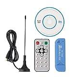 HiLetgo USB 2.0 Digital DVB-T SDR+DAB+FM HDTV TV Tuner Receiver Stick RTL2832U+R820T2
