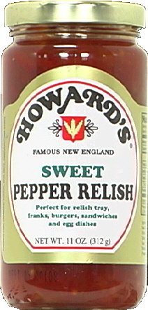 Howards Sweet Pepper Relish, 11 Ounce - 12 per case.
