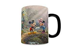 Thomas Kinkade (Mickey and Minnie Sweetheart Bridge) Morphing Mugs Heat-Sensitive Mug