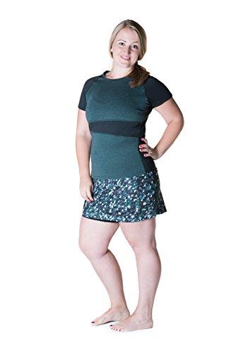 Print Triangle Falda Niña Love Para Sports Skirt Feliz Deportiva fxPnwOqw8