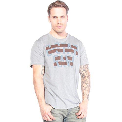 G-STAR Herren T-Shirt Grau Grau