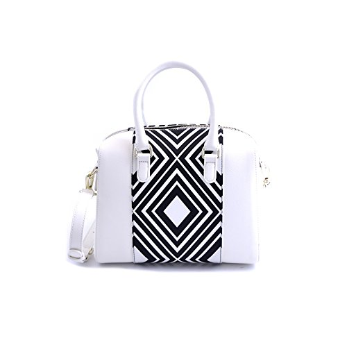 Plastic bag Handle Top woman Jeans Pvc Armani white 8WxwOYg7qq