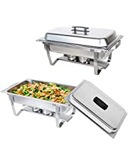 Valgus Stainless Steel Chafing Dish Buffet Chafer Set